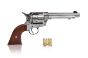 COLT PEACE MAKER NIKLOWANY 1873R SINGLE ACTION ARMY CAL 45 K1065-1wnp